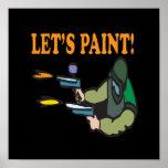 Lets Paint Posters