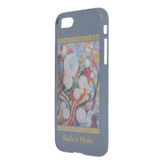 Let's Party - Abstract in Watercolor Your Name iPhone 8/7 Case