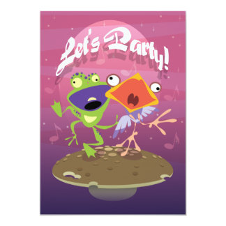 Let's Party! Card