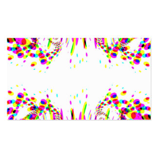 Let's Party Card Double-Sided Standard Business Cards (Pack Of 100)