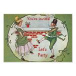 Let's Party for St Pats 13 Cm X 18 Cm Invitation Card