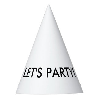 LET'S PARTY! Party hat