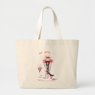 let's party, tony fernandes tote bags