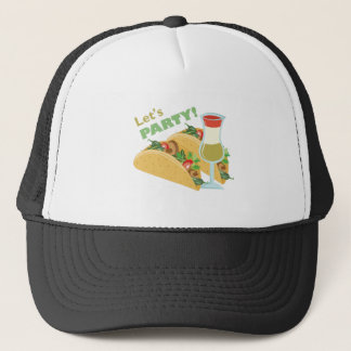 Lets Party Trucker Hat