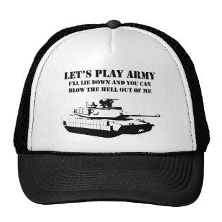 Let's Play Army Cap
