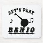 Let's Play Banjo Mousepads