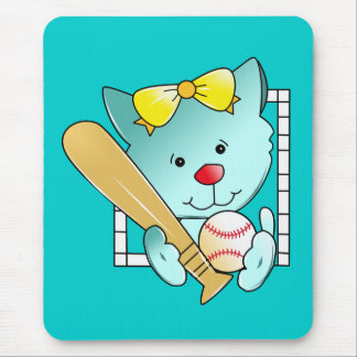 Let's play Baseball Mouse Pad