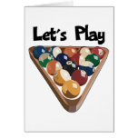 Let's Play Billiards Cards
