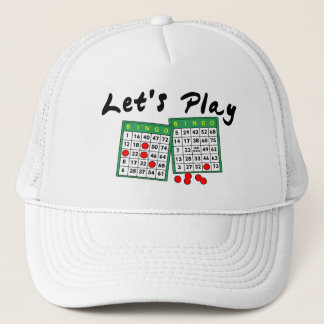 Let's Play Bingo Trucker Hat