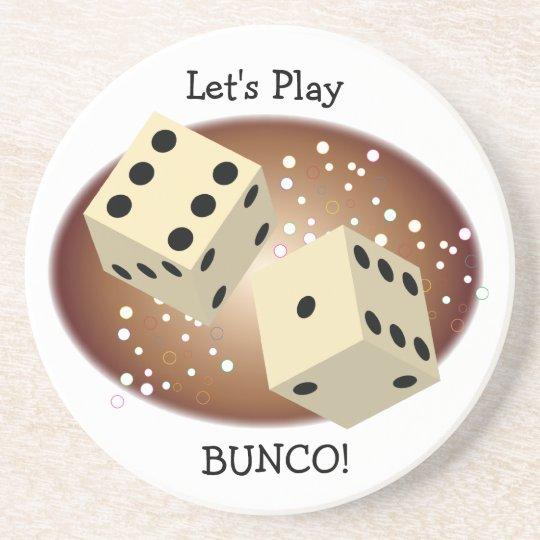 Let's Play Bunco Coasters