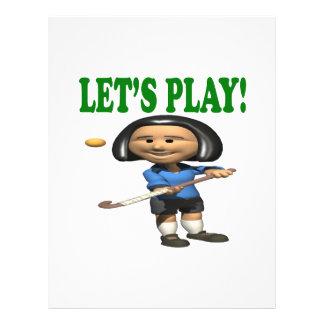Lets Play Custom Flyer