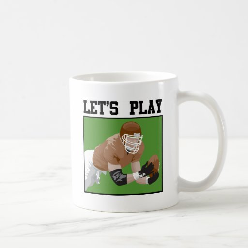 Let's Play Football Mug