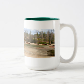 Let's Play Some Golf Two-Tone Mug