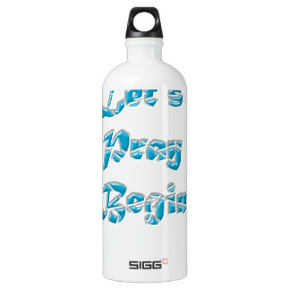Lets Pray Begin is the best design for everyone SIGG Traveller 1.0L Water Bottle