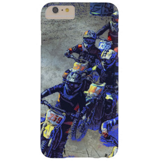"""Lets Race"" Motocross Dirt-Bike Racers Barely There iPhone 6 Plus Case"