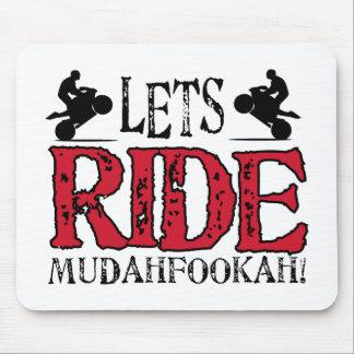 Lets Ride Mouse Mat