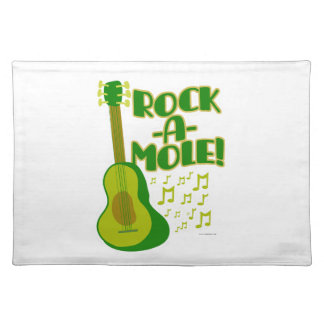 Lets Rock-A-Mole Placemats