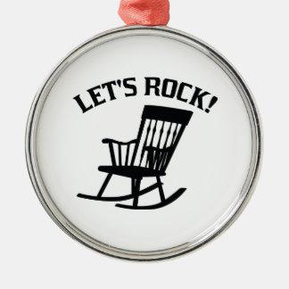 Let's Rock! Christmas Ornament