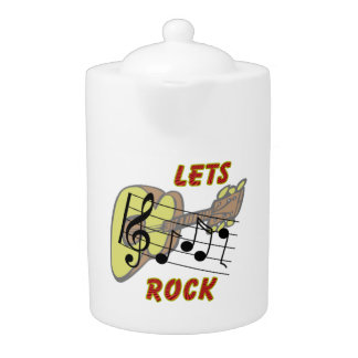 Lets Rock Teapot (2) sizes
