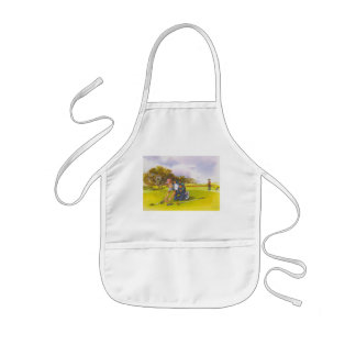 Lets Roll Kids Apron