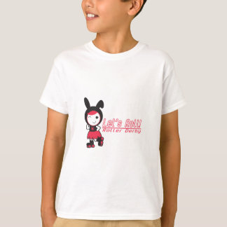 Let's Roll! Roller Derby T-Shirt