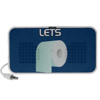 Let's Roll Notebook Speaker