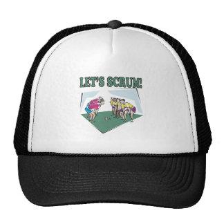 Lets Scrum Trucker Hat