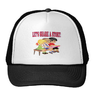 Lets Share A Story Mesh Hats