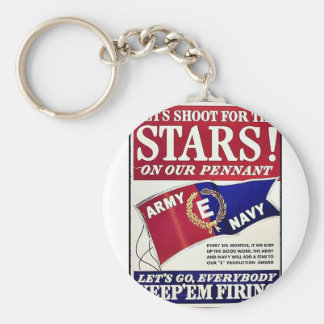 Let's Shoot For The Stars On Our Pennant Keychains