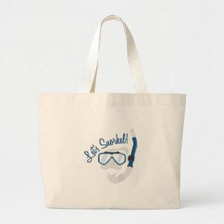 Let's Snorkel! Tote Bags