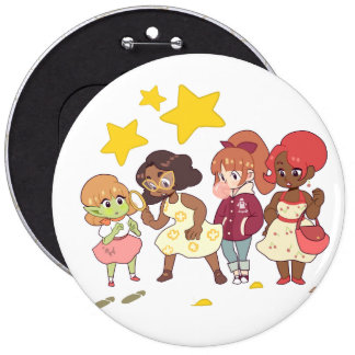 Let's Solve The Mystery 6 Cm Round Badge