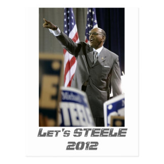 Let's STEELE 2012 Postcard