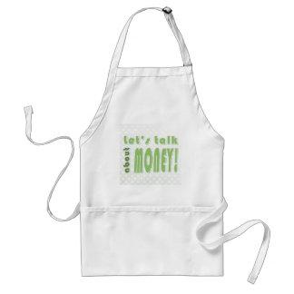 Let's talk about money standard apron