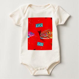 Let's Talk Baby Bodysuit