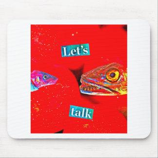 Let's Talk Mouse Pad
