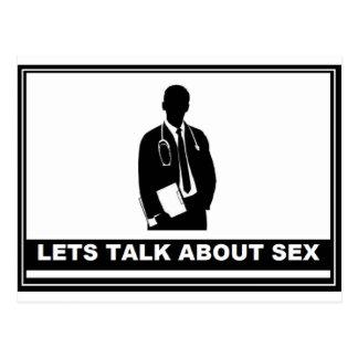 LETS TALK POSTCARD