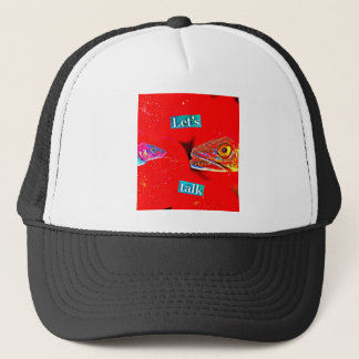 Let's Talk Trucker Hat