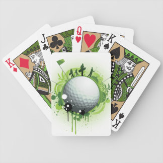 Let's Tee Off For Golf Bicycle Playing Cards