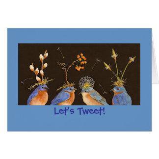 Let's Tweet card