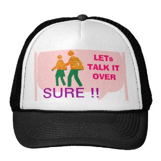 LETs WALK - Bubble Talk Cap