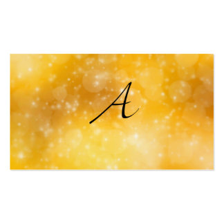 Letter A Business Card