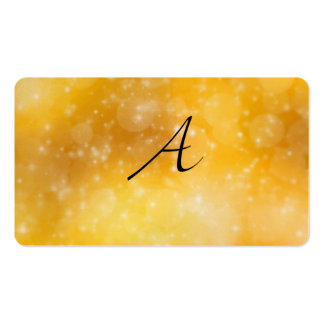 Letter A Business Card Template