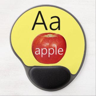 Letter A for Apple Gel Mousepad