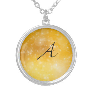 Letter A Personalized Necklace