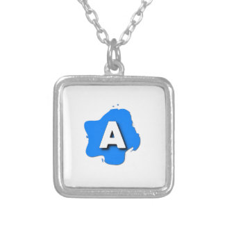 Letter A Jewelry