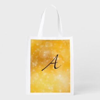 Letter A Grocery Bag