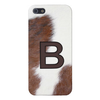Letter B Brand Cowhide Livestock Iphone 5 Case