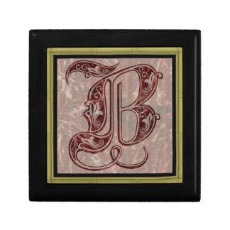 Letter B Gift Box