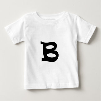 Letter B_large Baby T-Shirt
