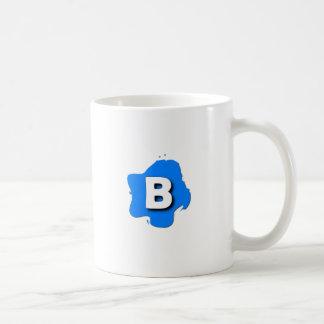 Letter B Coffee Mugs